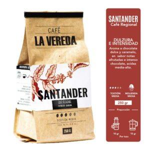 Café la vereda Santander