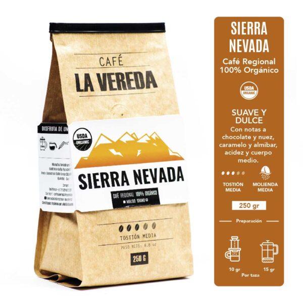 Café La Vereda Orgánico Sierra Nevada
