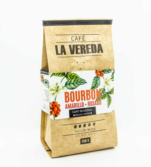 Café la vereda Bourbon Rosado
